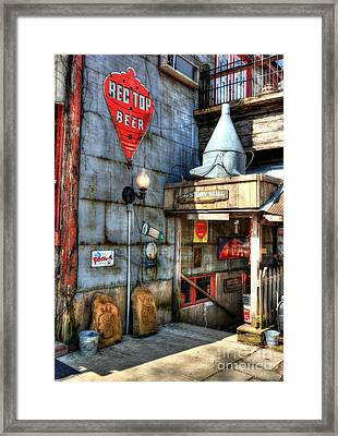 Still At Story  Framed Print