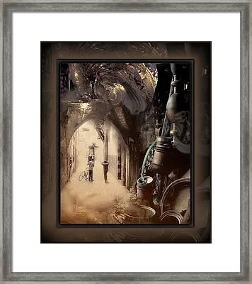 Still Breathing Framed Print by Freddy Kirsheh