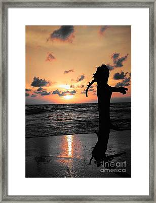 Still By Sea Framed Print