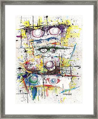 Still Colorblind Framed Print
