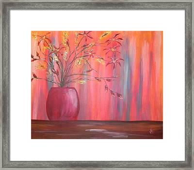 Still Colors Framed Print by Patti Spires Hamilton