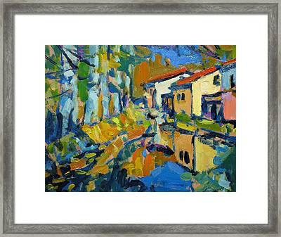 Still Creek Framed Print by Brian Simons