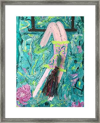 Framed Print featuring the painting Still Flying by Annette McElhiney