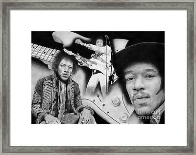 Still Got My Guitar  Framed Print by Stuart Attwell