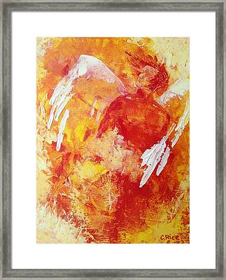 Framed Print featuring the painting Still In Awe by Chris Rice
