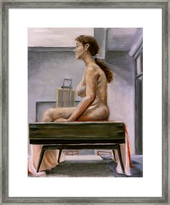 Still Framed Print by John Clum