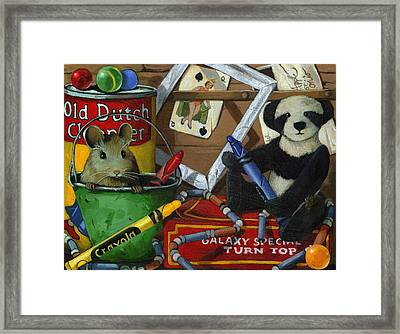 Still Life - Galaxy Special Framed Print by Linda Apple