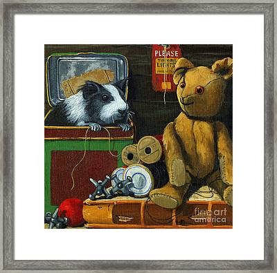 Still Life - Herman Finds A Friend Framed Print