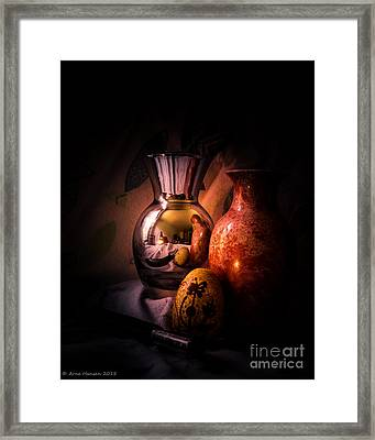 Still Life 109 Framed Print by Arne Hansen