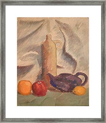 Still Life 1961 Framed Print by Fred Jinkins