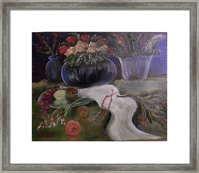 Still Life-2 Framed Print by M bhatt