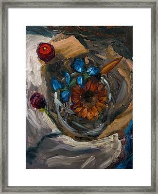 Still Life Abstract Framed Print