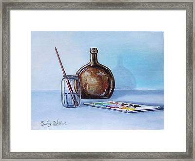 Still Life After Nc Wyeth 2 Framed Print