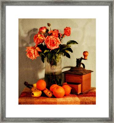 Framed Print featuring the photograph Still Life - Aging by Glenn McCarthy Art and Photography