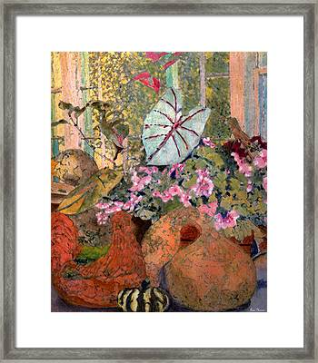 Still Life At White Wagon Farm Framed Print by Tom Herrin