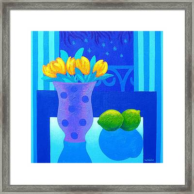Still Life At Window IIi Framed Print by John  Nolan