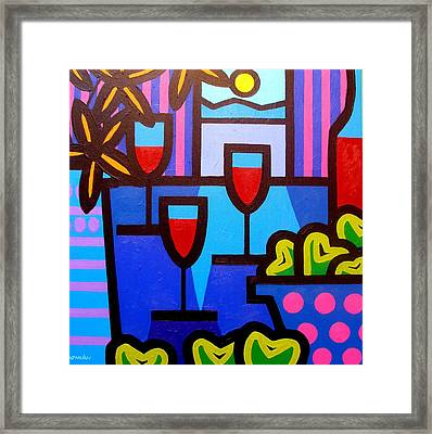 Still Life At Window  Framed Print by John  Nolan
