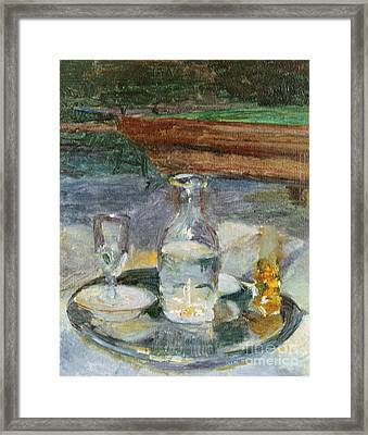 Still Life, Billiard, 1882 Framed Print