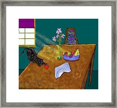 Still Life Framed Print by Carole Boyd