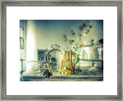 Framed Print featuring the photograph Still, Life Goes On by Wayne Sherriff