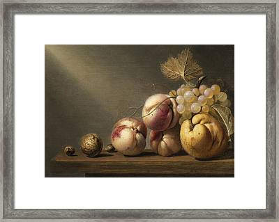 Still Life Framed Print by Harmen Steenwyck
