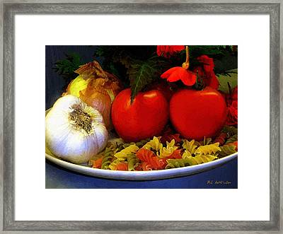 Still Life Italia Framed Print by RC deWinter