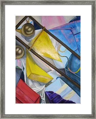 Still Life Framed Print by Kelley Sheldon