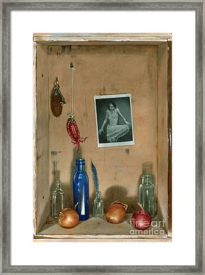 Still Life Framed Print by Larry Preston