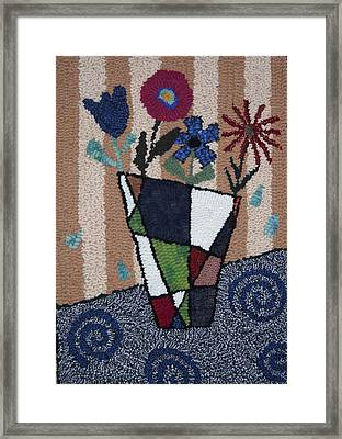 Still Life Line Play Framed Print by Maureen McIlwain