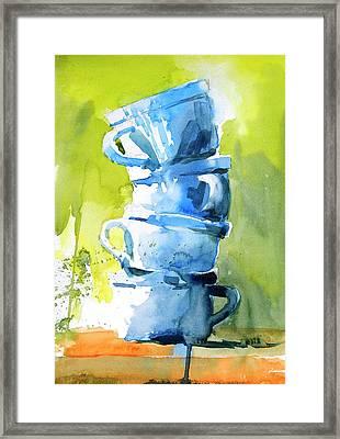 Still Life No 1 Framed Print by Virgil Carter