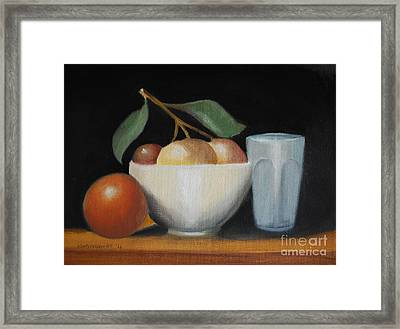Still Life No-5 Framed Print by Kostas Koutsoukanidis