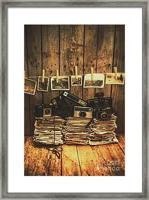 Still Life Nostalgia Framed Print