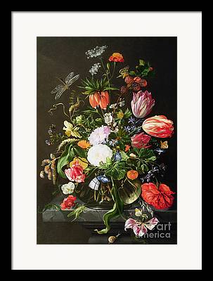Floral Display Framed Prints