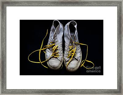 Well Worn Framed Print by Jacqueline Moore