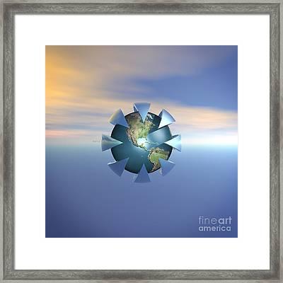 Still Life On Earth Framed Print