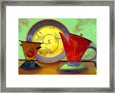 Still Life One Framed Print by Jeff Burgess