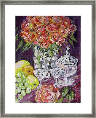 Still Life. Prosperity Framed Print