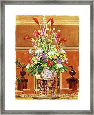 Still Life - Ritz Carlton Laguna Niguel Framed Print