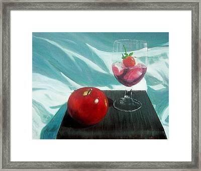 Still Life Framed Print by Tony Rodriguez