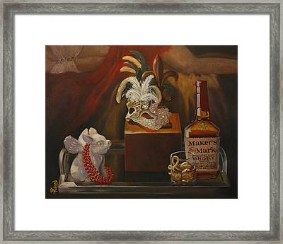 New Orleans Twist Framed Print