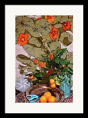 Still Life With Tangerines Photographs Framed Prints