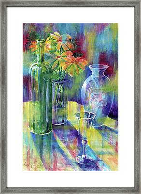 Still Life With Color Framed Print