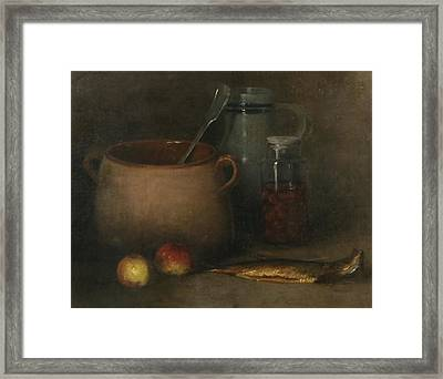 Still Life With Fish Framed Print by MotionAge Designs