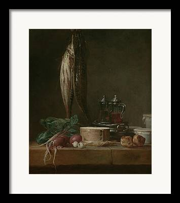 Still Life With Fish Framed Prints
