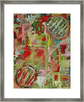 Still Life With Fruit Framed Print by Michael Henderson