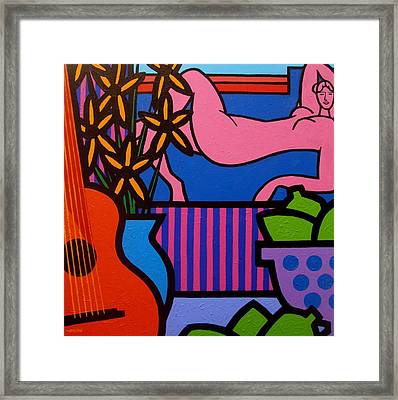 Still Life With Matisse  II Framed Print