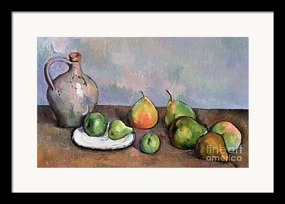 Still Life With Pitcher Paintings Framed Prints