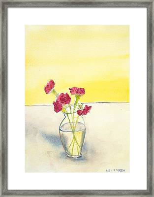 Still Life With Roses Framed Print