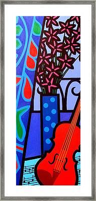 Still Life With Violin Framed Print