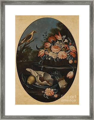 Still Lifes Of Birds Framed Print by MotionAge Designs